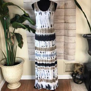 Venus Tie-dye maxi dress